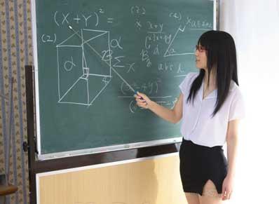 你的数学是体育老师教的吧